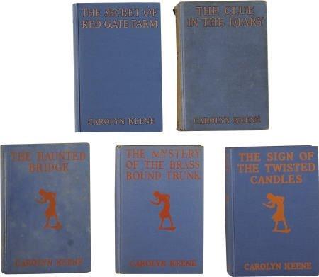 57256: Carolyn Keene. Five Early Nancy Drew Mystery