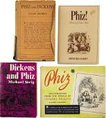 58208: Charles Dickens and Phiz. Four Related Titles