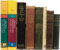 58214: Charles Dickens Eight Books Relating to Dickens