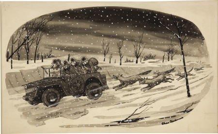 66004: CHARLES ADDAMS  New Yorker Cartoon Art