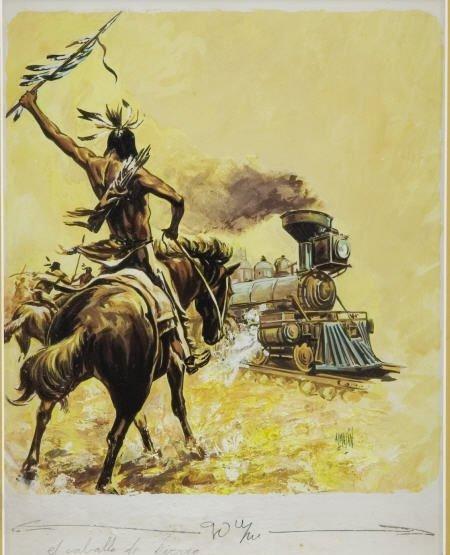 66005: ALMAZAN - El Caballo de Hierro (The Iron Horse)