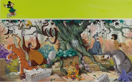 66009: AMERICAN ILLUSTRATOR - Walt Disney's Jungle Boo