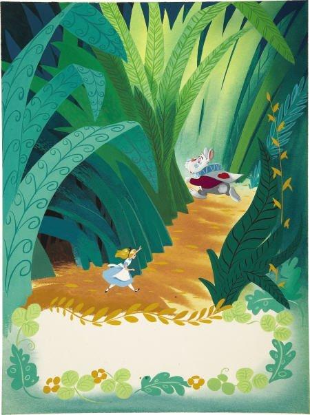 66012: AMERICAN ARTIST - Disney's Alice in Wonderland