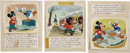 66013: AMERICAN ARTIST Walt Disney's Donald Duck 1953