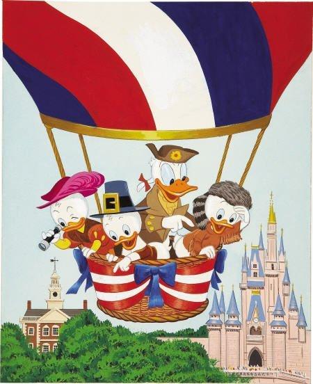 66015: AMERICAN ILLUSTRATOR Walt Disney's Donald Duck