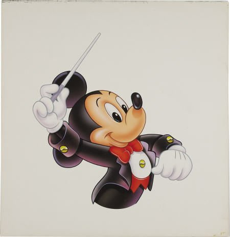 66017: AMERICAN ARTIST - Mickey Mouse, Conductor