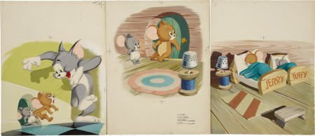 66022: AMERICAN ILLUSTRATOR Tom and Jerry 1954