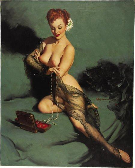 66097: GIL ELVGREN - Fascination 1952