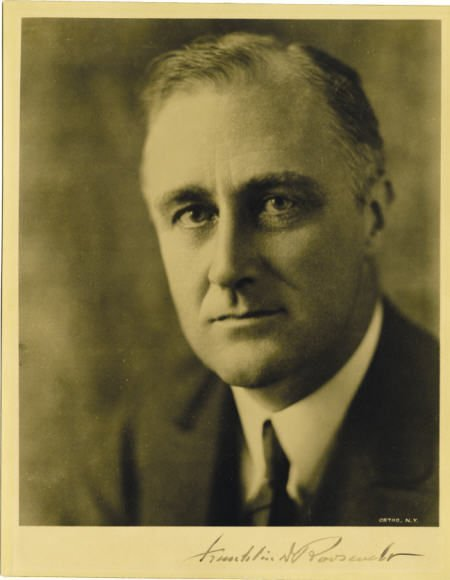 53001: FDR Signed Photograph