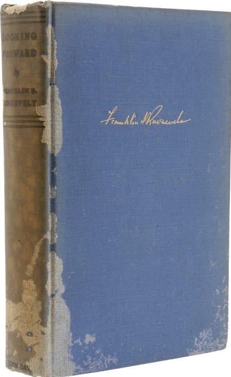 53020: Franklin D. Roosevelt: Signed Looking Forward
