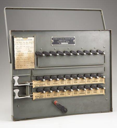 53164: 1940 Election Voting Machine
