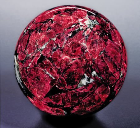 38220: ?DRAGON?S BLOOD? SPHERE - EUDIALYTE