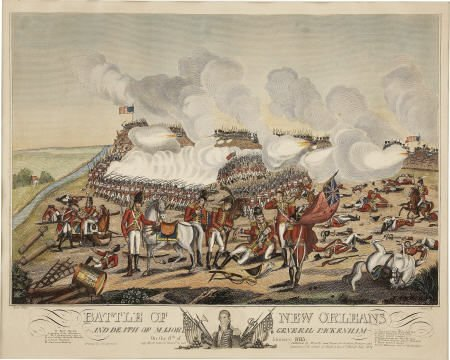70016: Print: Battle of New Orleans Yeager