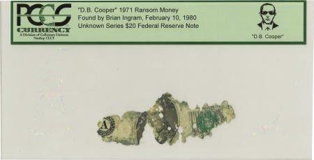 """70290: """"D. B. Cooper"""" 1971 Ransom Money."""