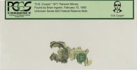 """70295: """"D. B. Cooper"""" 1971 Ransom Money."""