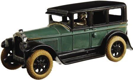 70301: 1927 Buick Deluxe Sedan Cast Iron Toy Car.