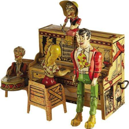 70304: Li'l Abner's Dogpatch Band Tin Windup Toy