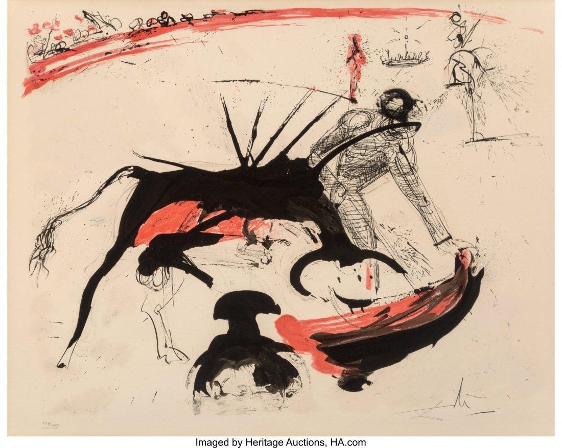 92012: Salvador Dalí (1904-1989) Bullfight #3, 1