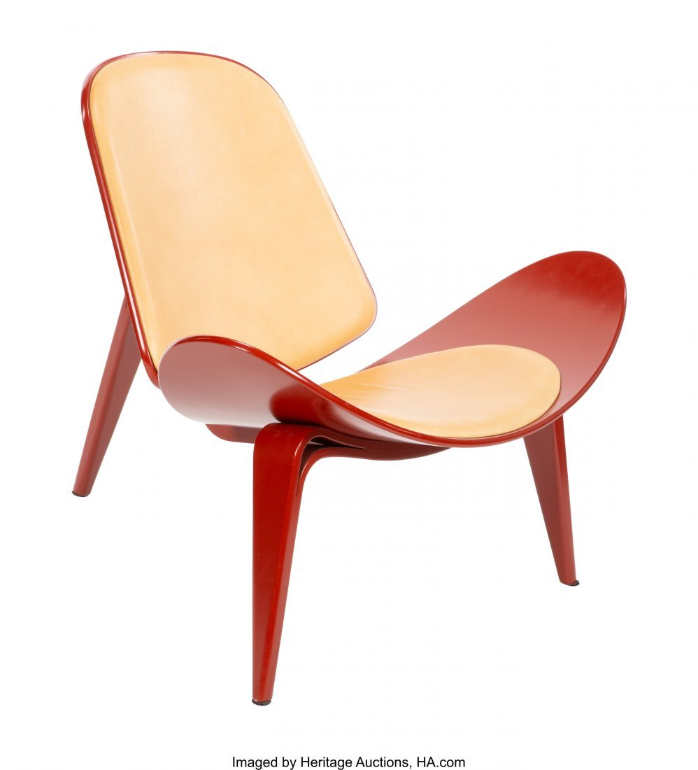 67010: Hans J. Wegner (Danish, 1914-2007) Shell Chair,