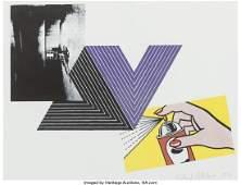 93045: Richard Pettibone (b. 1938) Appropriation Print