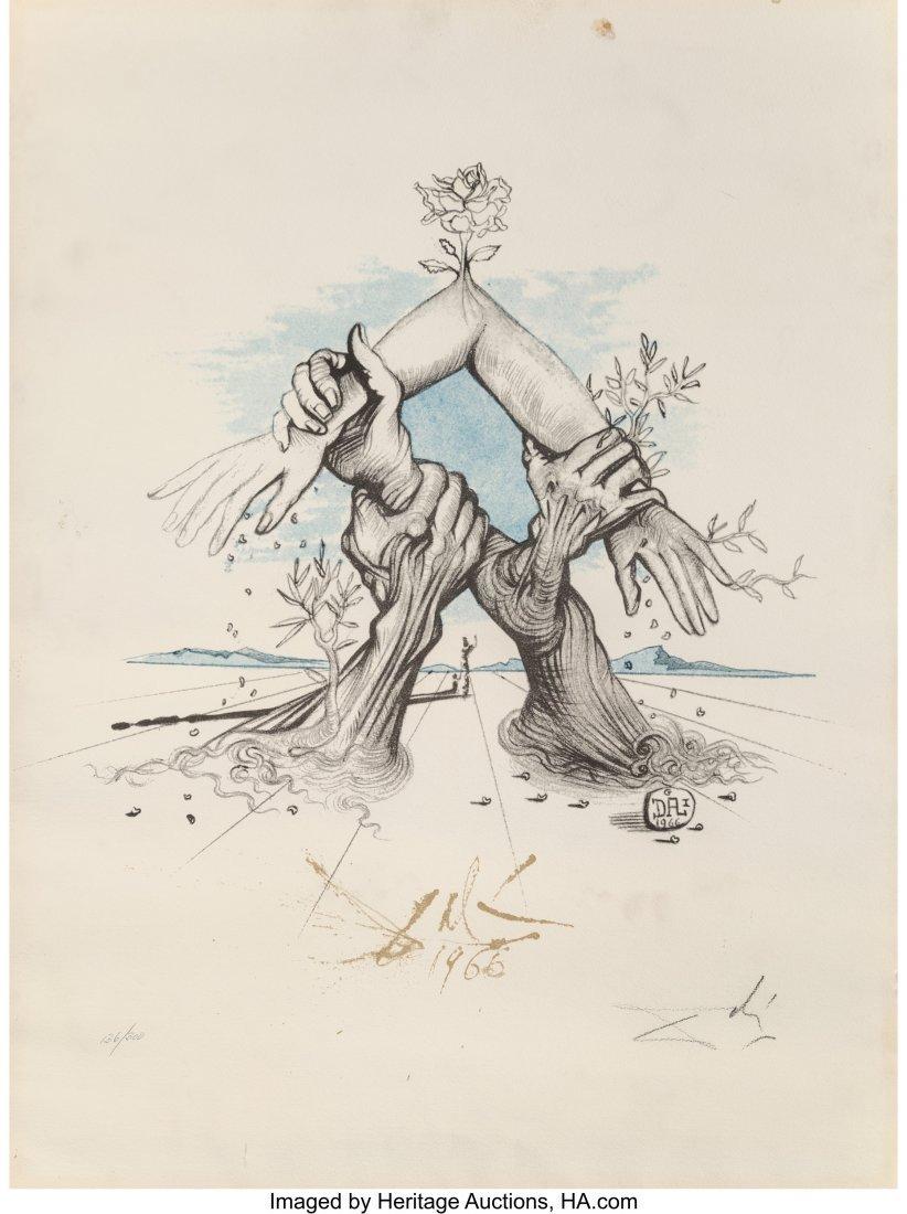 93009: Salvador Dalí (1904-1989) Five Continents