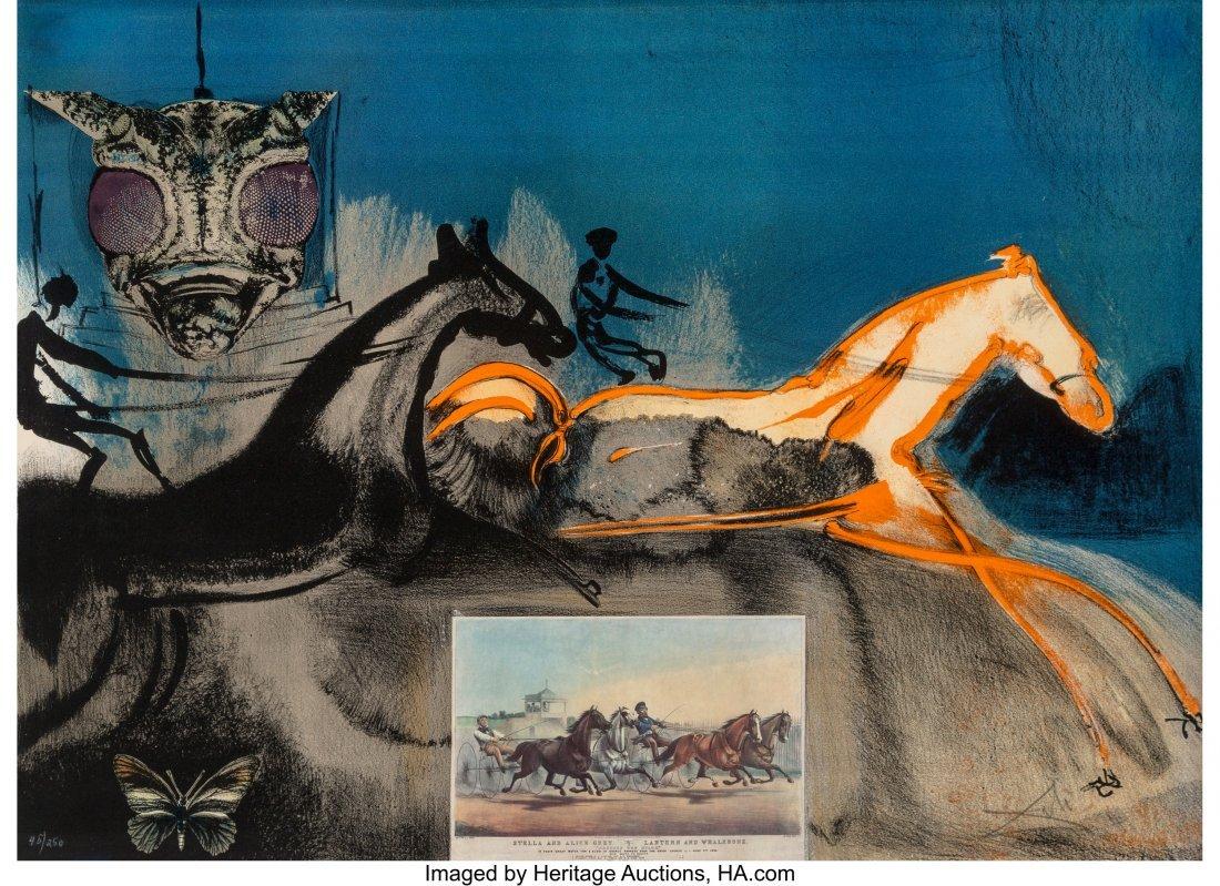 93010: Salvador Dalí (1904-1989) American Trotti