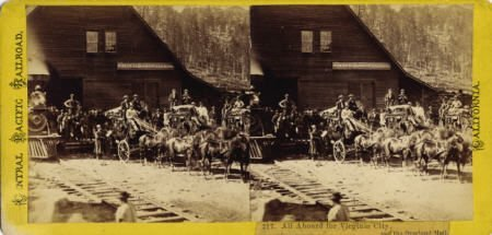 72003: 3 WELLS FARGO & CO & OVERLAND MAIL STAGECOACHES