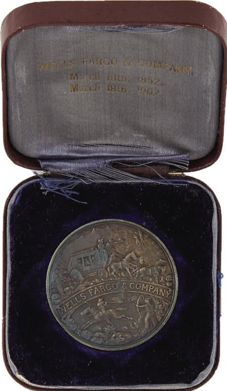 72012: Wells Fargo & Company Silver Medal in Original