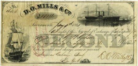 72016: D. O. Mills & Company 2nd Exchange Sacramento