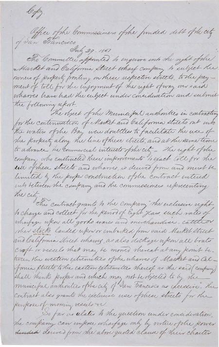 72018: 1851 Wharf Company Debt Document Signed
