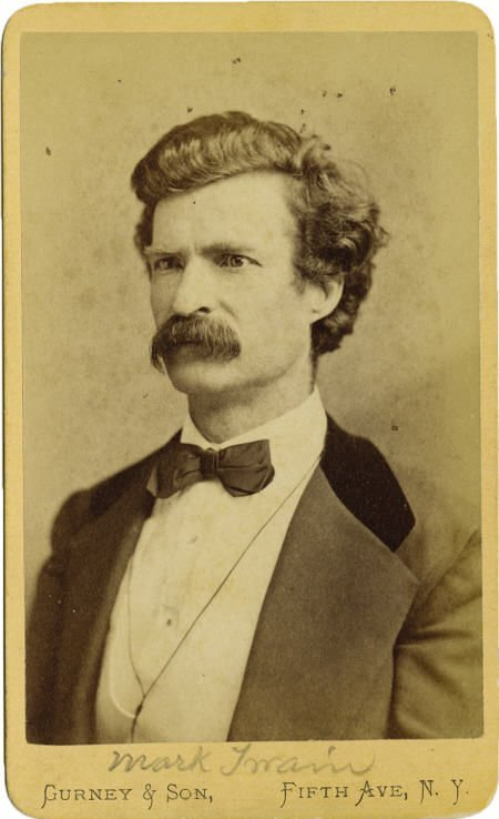 72019: CDV Photograph Samuel L. Clemens (Mark Twain)