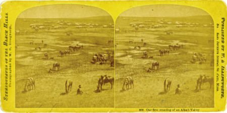 72335: Stereoview Custer?s Expedition - ?Our First