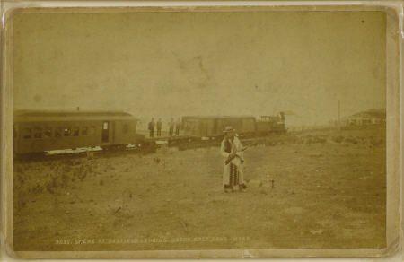 72506:  ?Garfield Landing?, Great Salt Lake, Utah
