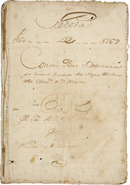 76005: Slavery - Carlos Francisco de Croix DS