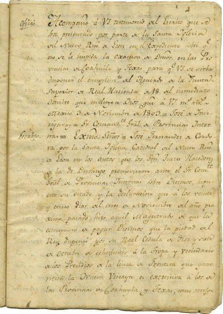 76011: [Jose Maria de la Garza & Jose Fernandez de