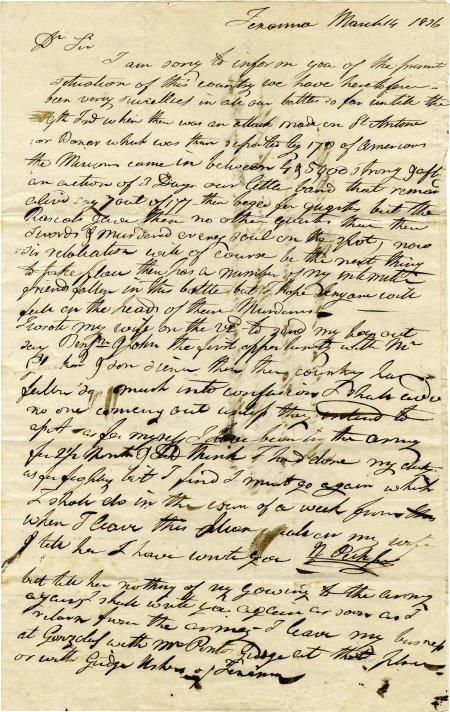 76056: [The Fall of the Alamo]  Nicholas Pickford