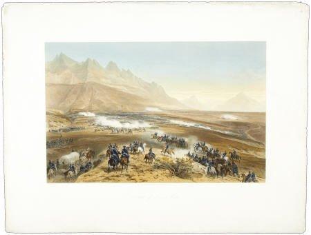 "76172: ""Battle of Buena Vista"", Kendall Litho."