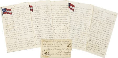 76237: Lengthy Civil War Autograph Letter Signed by