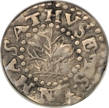1: 1662 2PENCE Oak Tree Twopence VF20 PCGS.