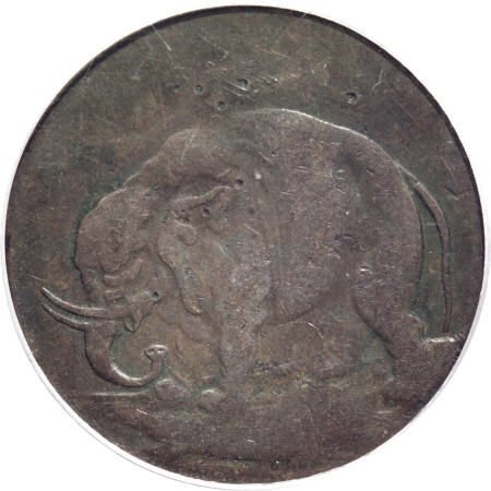 4: (1694) TOKEN London Elephant Token, LON DON VF20