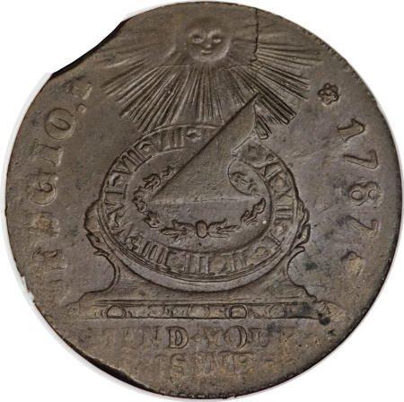 14: 1787 1C Fugio Cent, STATES UNITED,