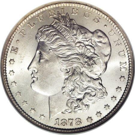 1283: 1878-CC $1 MS66 NGC.