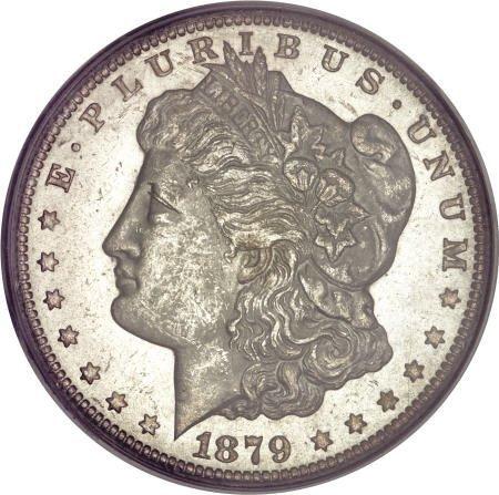 1290: 1879-CC $1 MS62 PCGS.
