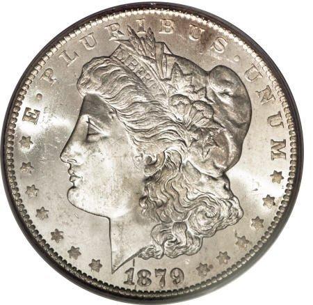 1291: 1879-CC $1 MS63 PCGS.