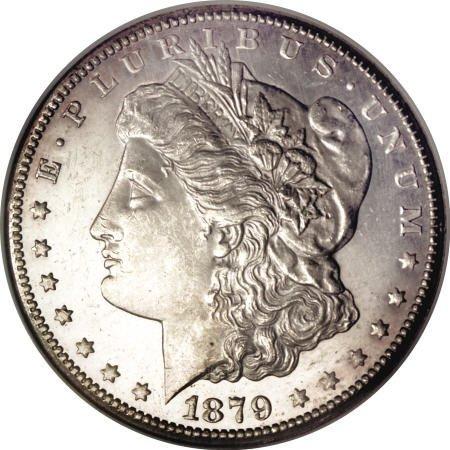 1293: 1879-CC $1 MS63 Prooflike NGC