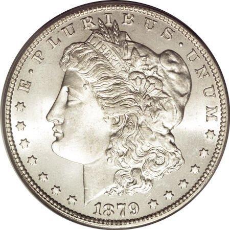 1296: 1879-O $1 MS65 PCGS.
