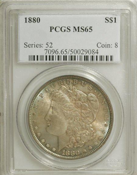 1301: 1880 $1 MS65 PCGS.