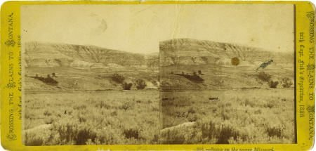 78099: Stereoview Captain Fisk?s Expedition 1866 -