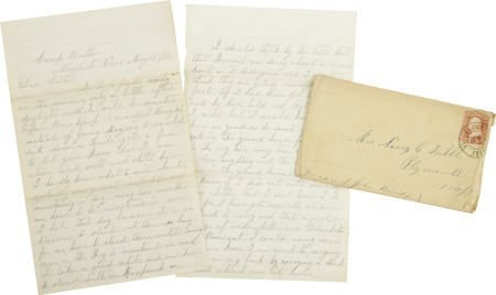 72006: J. T Atwood Writes to His Sister in May 1862
