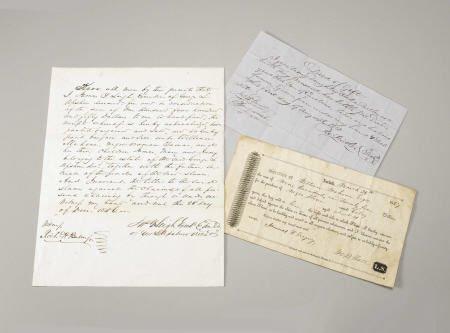 72009: Gen William Mahone: Collection 3 Slave Docs